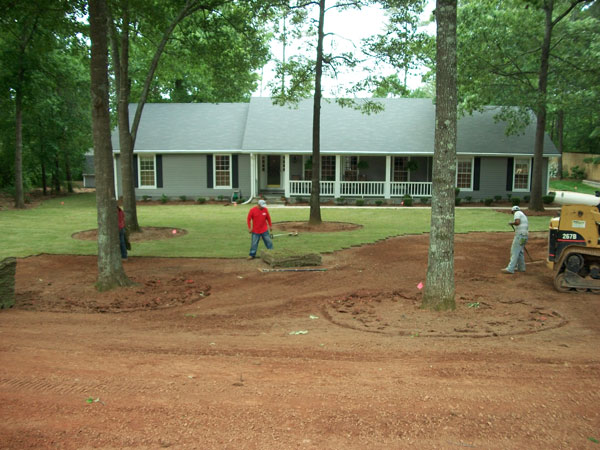 Landscape Installation In Senoia Peachtree City